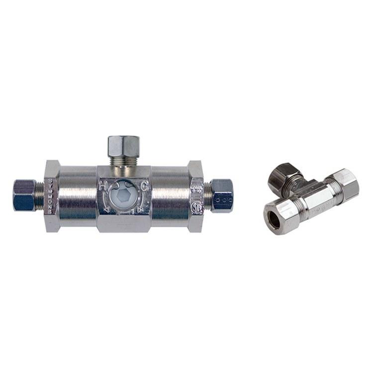 U Type Chrome Electric Water Heater Mixing Valve Single: Symmons 4-10B