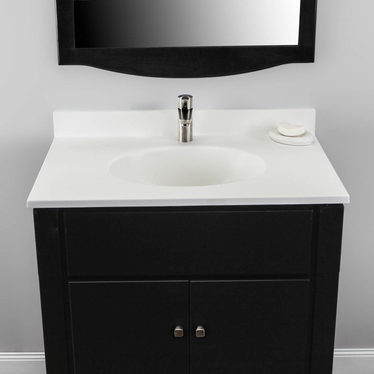 Buy Swan Vt02231 010 Ellipse 31x22 Quot Single Bowl Vanity Top