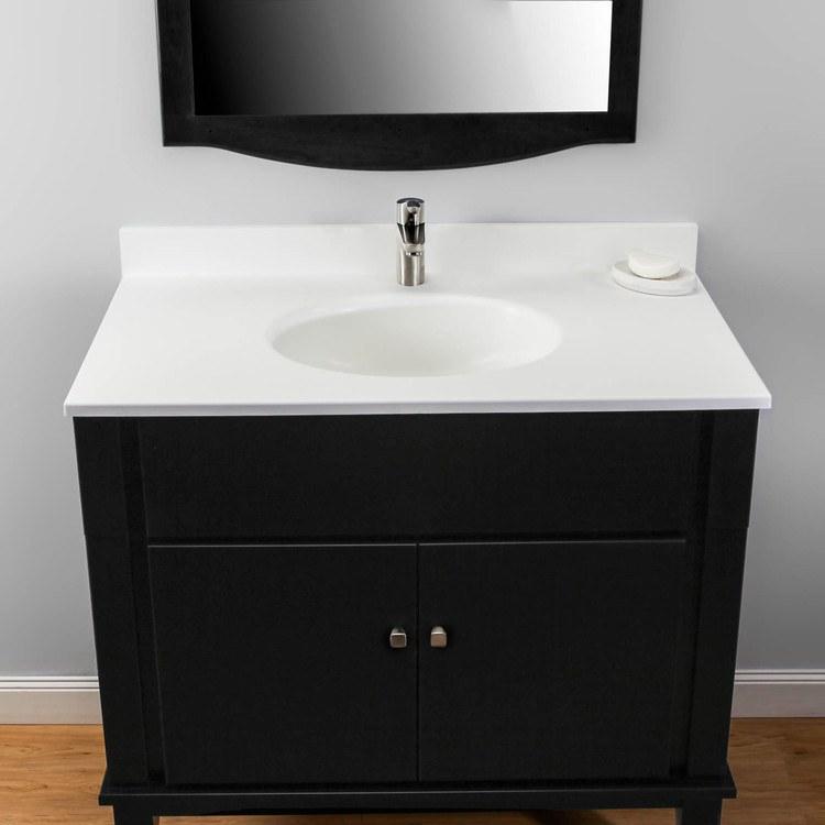 Buy Swan Vt02237 010 Ellipse 37x22 Quot Single Bowl Vanity Top