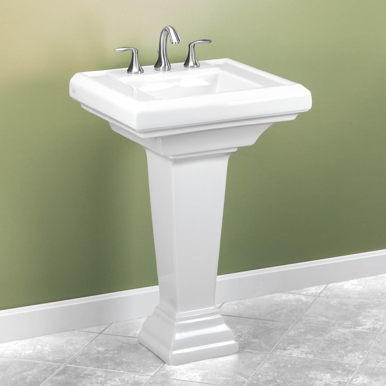 American Standard 0790 800 020 Town Square Pedestal Lavatory