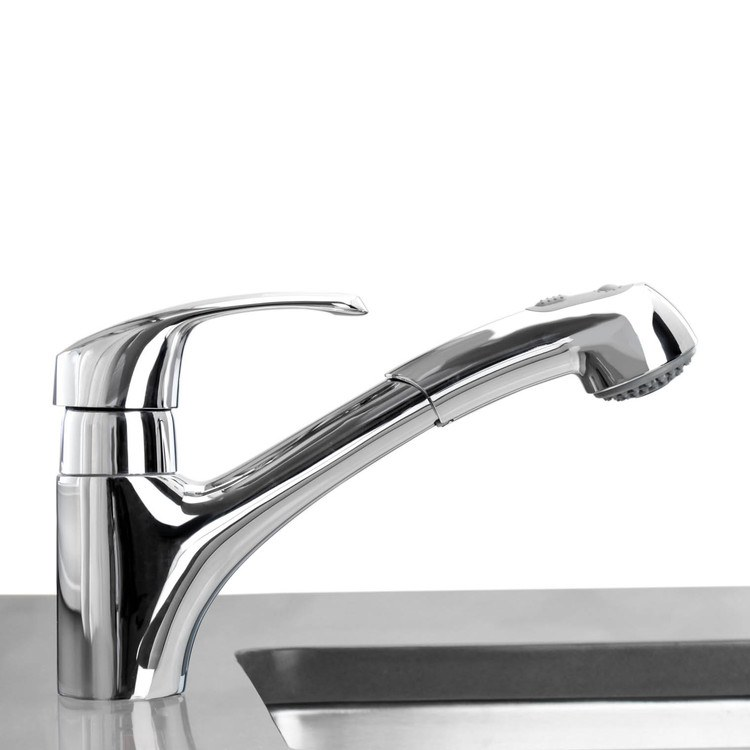 buy grohe 32 999000 alira single handle pull out kitchen