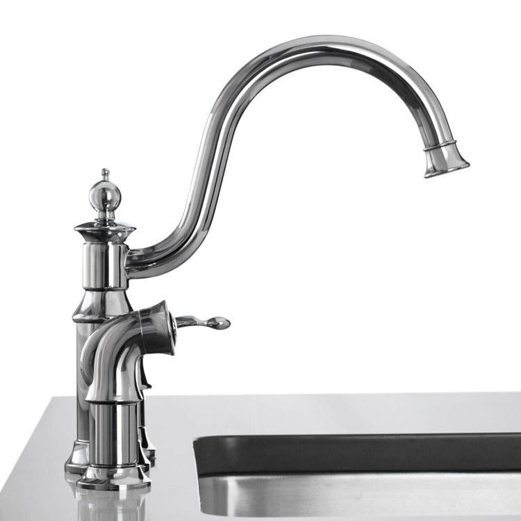 buy moen s711 waterhill single handle kitchen faucet with