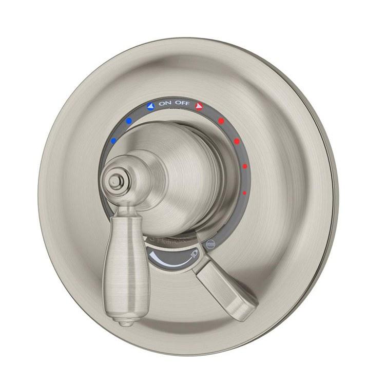 U Type Chrome Electric Water Heater Mixing Valve Single: Allura Shower Valve Trim