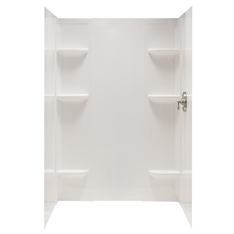 Mustee 260wht Durawall Shower Module