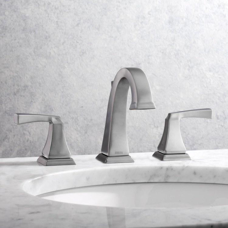 delta 3551lf ss dryden lavatory faucet