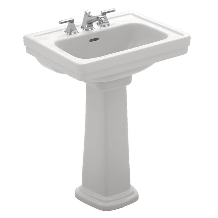 ... Toto Pedestal Sink Single Hole By Buy Toto Lpt532n 01 Promenade 24 Quot  Pedestal Bathroom Sink ...