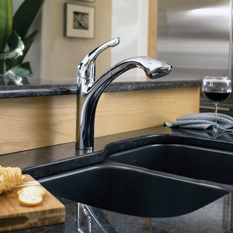 Buy Hansgrohe 04076000 Allegro E Single Handle Pull Out