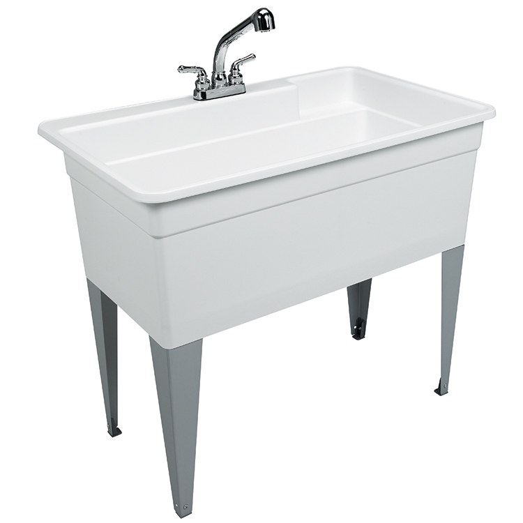 Buy Mustee 28CF Big Tub Utilatub Combo Utility Sink 40