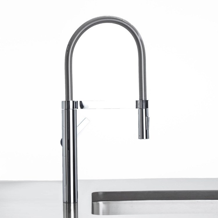 Buy Blanco 441331 Culina Single Handle Semi Pro Kitchen Faucet With Hand Sprayer Riverbend Home