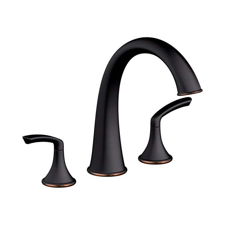 Symmons Srt 5570 Sbz Elm Roman Tub Filler