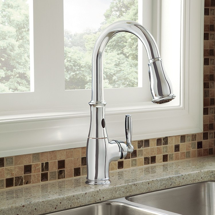 Moen Motionsense Kitchen Faucet: Brantford Kitchen Faucet