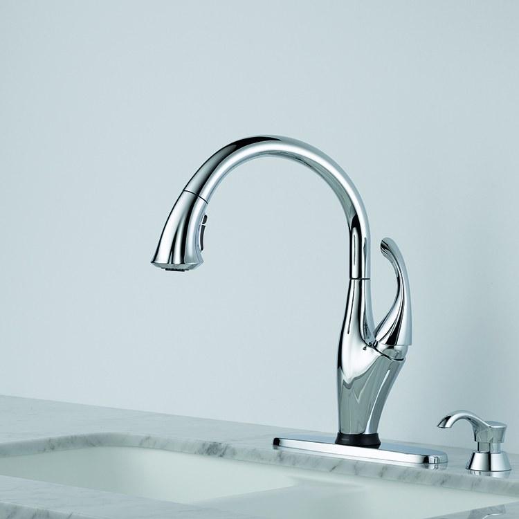 Delta 9192t Sd Dst Addison Kitchen Faucet