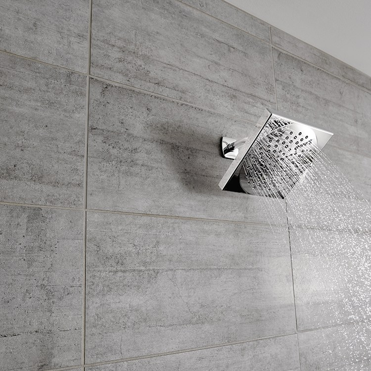 Buy Moen S6345EP Velocity Two Function Square Rainfall Shower Head 2 0 GPM