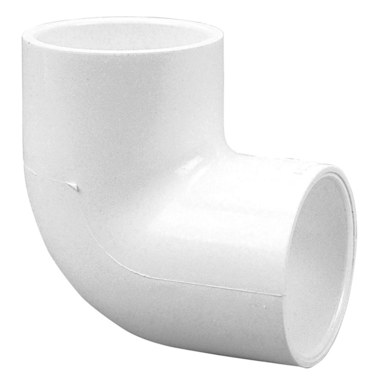 Commodity PVC Pressure Fittings 406-007 Elbow 90 Degree 3/4 Inch PVC  Schedule 40 Socket 406-007