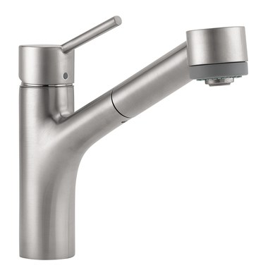 Hansgrohe 06462860 Talis S Single Handle Pull Out Kitchen Faucet