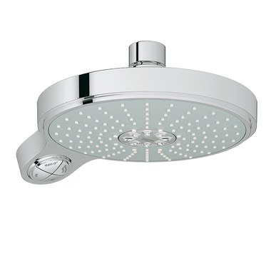 grohe 27765000 power soul cosmopolitan 190 showerhead. Black Bedroom Furniture Sets. Home Design Ideas