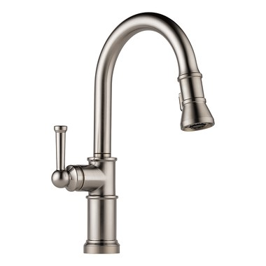 Brizo 63025LF-SS Artesso High Arc Single Handle Pull Out Kitchen Faucet