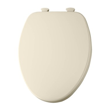 Miraculous Church 585Ec006 Molded Wood Toilet Seat With Easy Clean And Change Hinges And Flat Cover Ocoug Best Dining Table And Chair Ideas Images Ocougorg