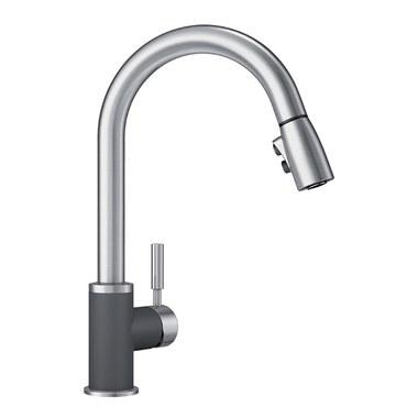 Blanco 442065 Sonoma Single Handle Pull Down Kitchen Faucet 2.2 GPM