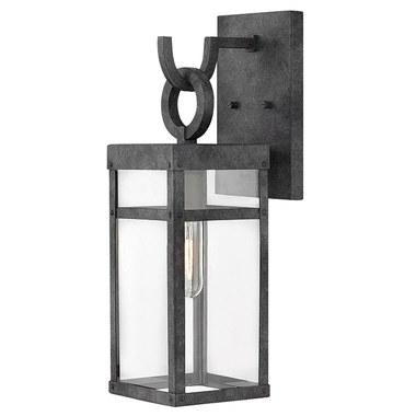 Hinkley 2800dz Porter Single Light Small Wall Mount Lantern