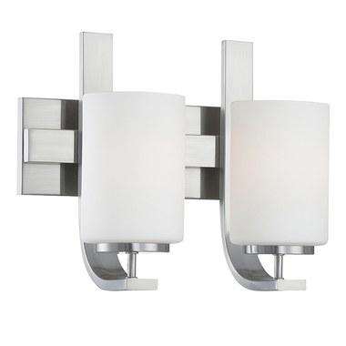 Thomas Lighting Tv0007217 Pendenza Two Light Bathroom Vanity Fixture