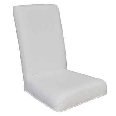 Incredible Elk Home 7011 117 E Couture Covers Parsons Chair Cover Pure White Evergreenethics Interior Chair Design Evergreenethicsorg