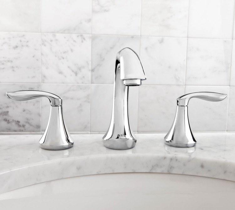 Buy Moen T6420bn Eva Two Handle Widespread Bathroom Faucet Riverbend Home