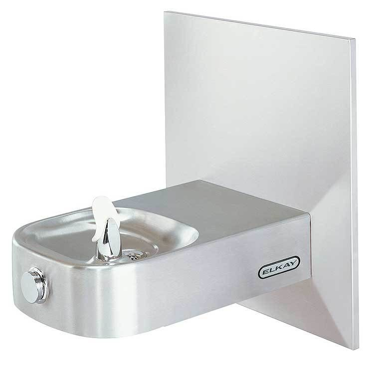 Elkay ECDFPW314C Slimline Soft Sides Single Station Non-Filtered  Non-Refrigerated ADA Wall Mount Water Fountain