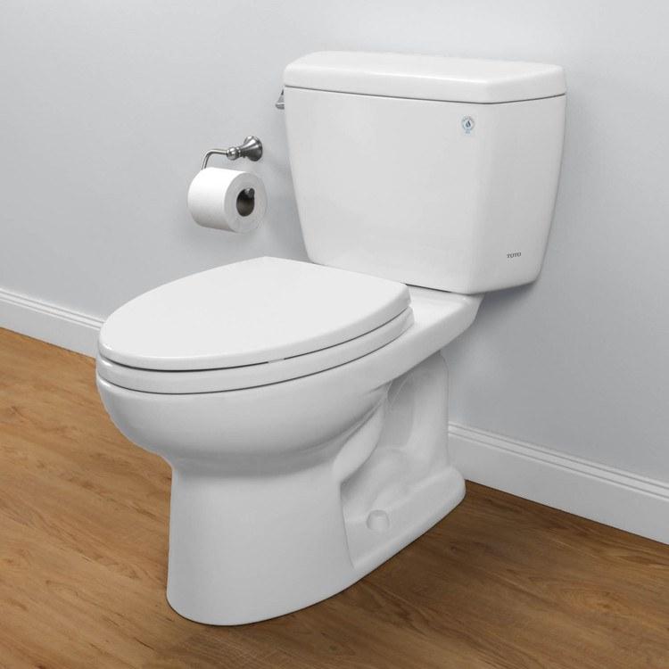 Toto CST744E#01 - Eco Drake Toilet