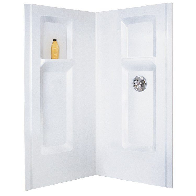 Mustee 736cwht Durawall Shower Module