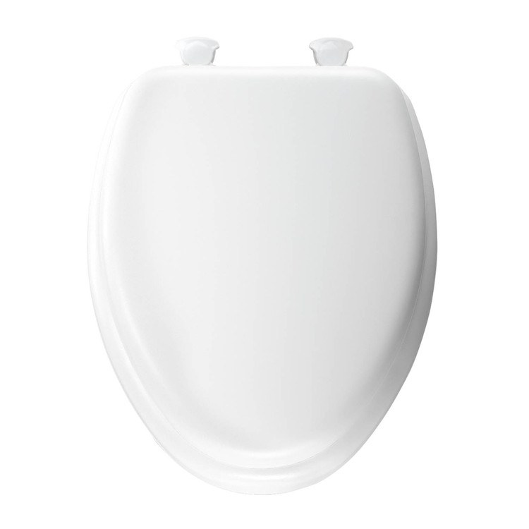 Stupendous Church 113Ec000 Mayfair Wood Core Soft Toilet Seat With Easy Clean And Change Hinges Andrewgaddart Wooden Chair Designs For Living Room Andrewgaddartcom