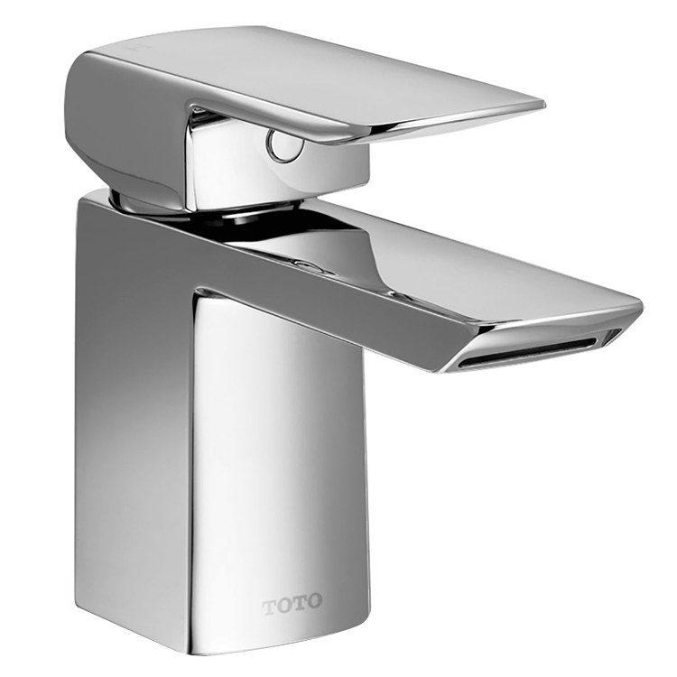 Toto TL960SDLQ#CP Soiree Single Handle Bathroom Faucet With Drain