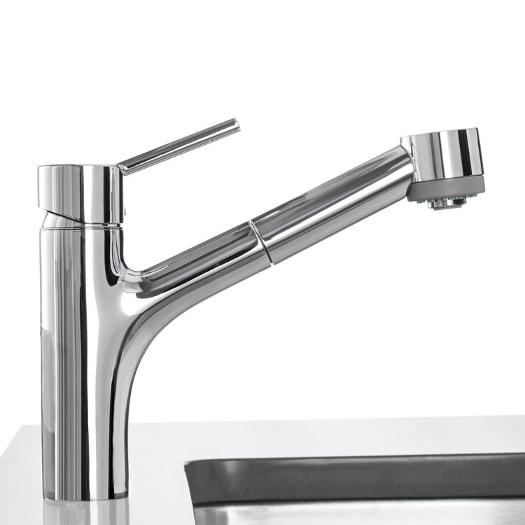 hans grohe kitchen faucets buy hansgrohe 06462000 talis s single handle pull out kitchen faucet riverbend home 5881