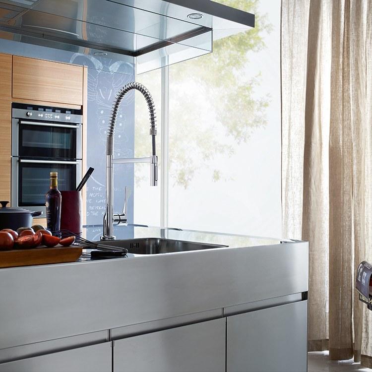 axor 39840001 axor citterio kitchen faucet axor axor citterio one handle deck mounted kitchen faucet