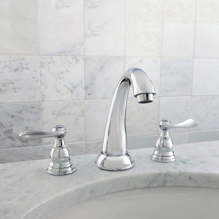 Delta Windemere Widespread Bathroom Faucet With Double Lever Handles Reviews: Foundations Windemere Lavatory Faucet