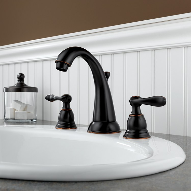 Delta B3596lf Ob Foundations Windemere Lavatory Faucet
