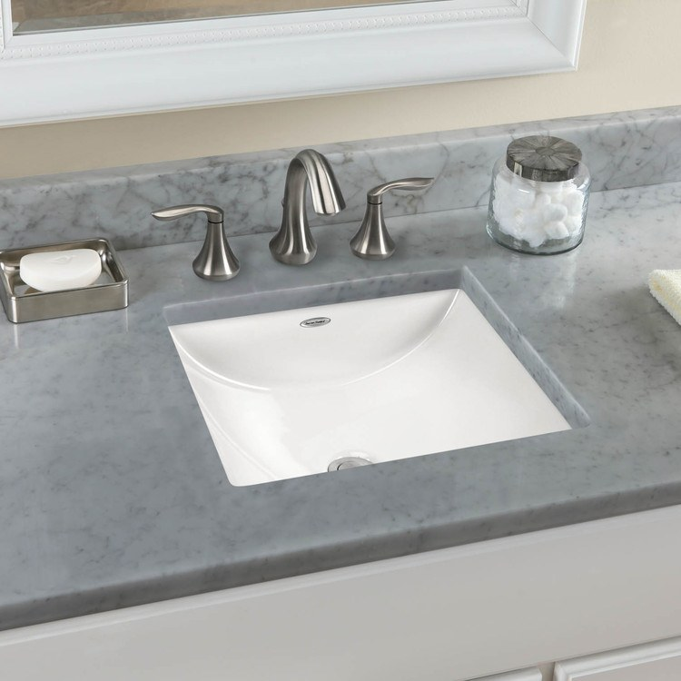 American Standard Studio Carre Lavatory - American standard undermount bathroom sinks for bathroom decor ideas