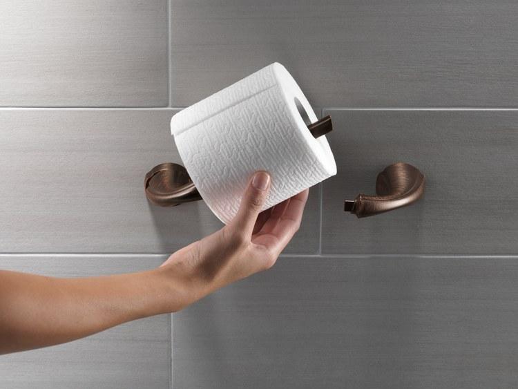 delta 79250 cz addison toilet paper holder. Black Bedroom Furniture Sets. Home Design Ideas