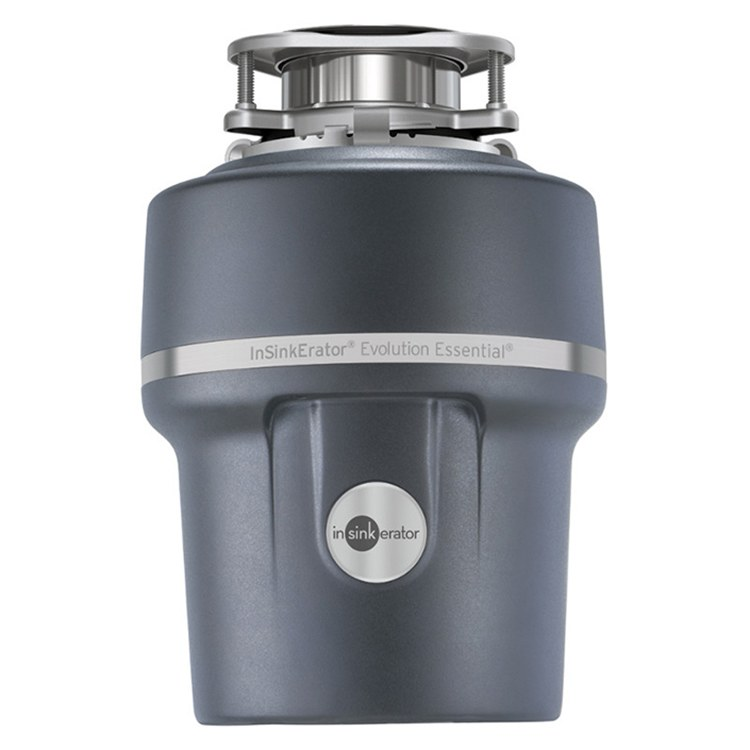 InSinkErator 76000A Evolution Essential 3/4 HP Garbage Continuous Feed Garbage  Disposal With Power Cord