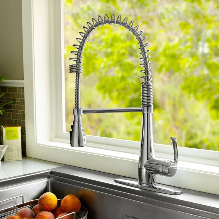 American Standard 4433 350 002 Quince Kitchen Faucet