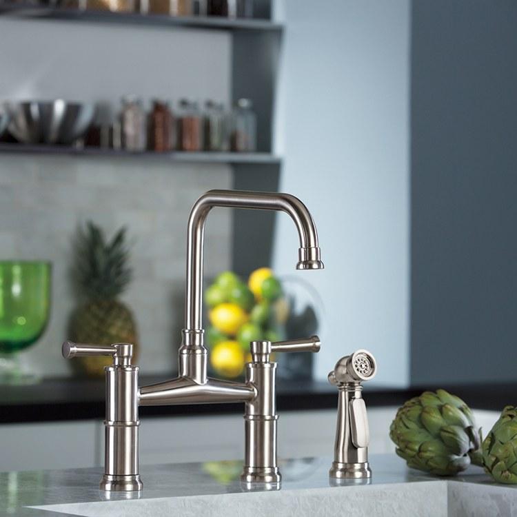 Brizo 62525lf Pn Artesso Kitchen Faucet