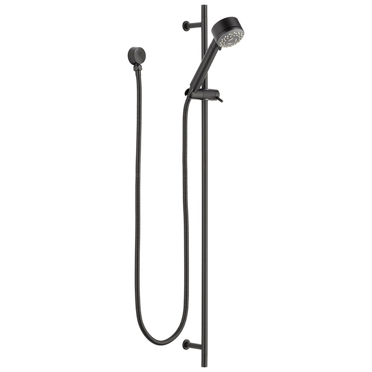Euro Three Function Handshower With Slide Bar