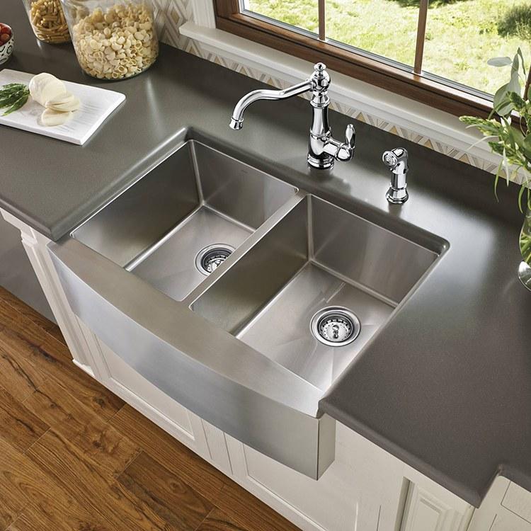 Moen G18220 1800 Kitchen Sink