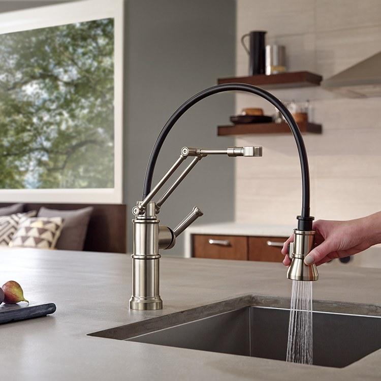 Brizo 63225lf Ss Artesso Kitchen Faucet