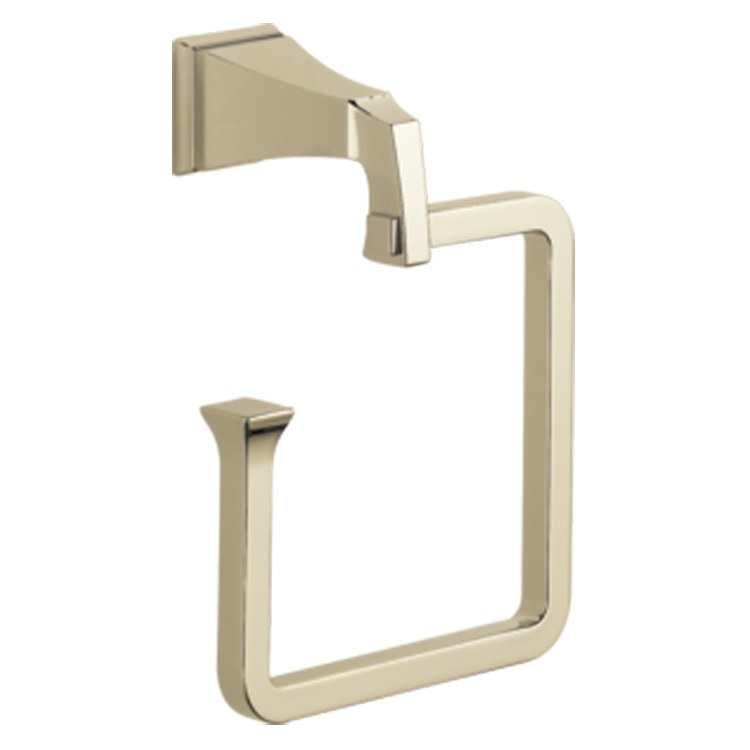 Delta 75146 Pn Dryden Towel Ring
