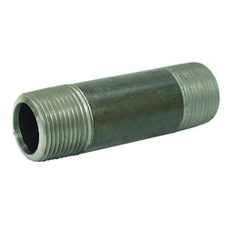 Commodity Nipples 38X3 Nipple Black Steel 3/8 x 3 Inch Threaded Both Ends Standard Schedule 40