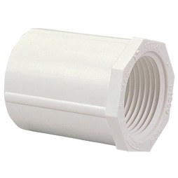 "Commodity PVC Pressure Fittings 435-020 Adapter PVC 2"" SocketxFIPT S40 Female 435-020"
