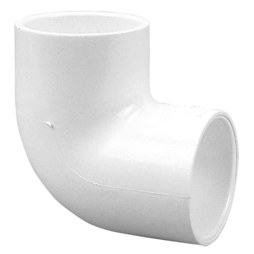 "Commodity PVC Pressure Fittings 406-007 Elbow 90DEG PVC 3/4"" Socket S40 406-007"