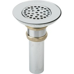 "Elkay LK18 Drain Fitting with Perforated 3"" Grid Strainer"