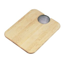 Elkay CBS1418 Maple Cutting Board with Removable Strainer